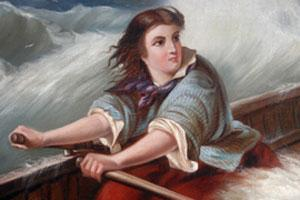 Grace Darling: Image courtesy of RNLI Grace Darling Museum