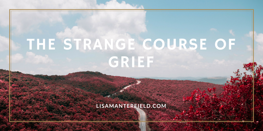 The Strange Course of Grief by Lisa Manterfield - lisamanterfield.com