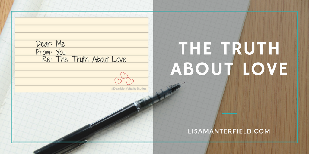 The Truth About Love by Lisa Manterfield -lisamanterfield.com
