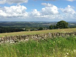 Sheffield from the surrounding countryside