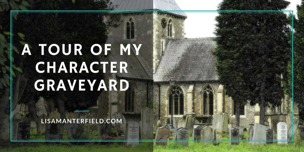 A Tour of my Character Graveyard by Lisa Manterfield - lisamanterfield.com