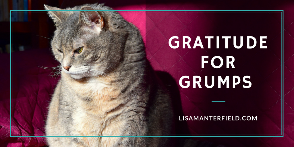 Gratitude for Grumps by Lisa Manterfield -lisamanterfield.com